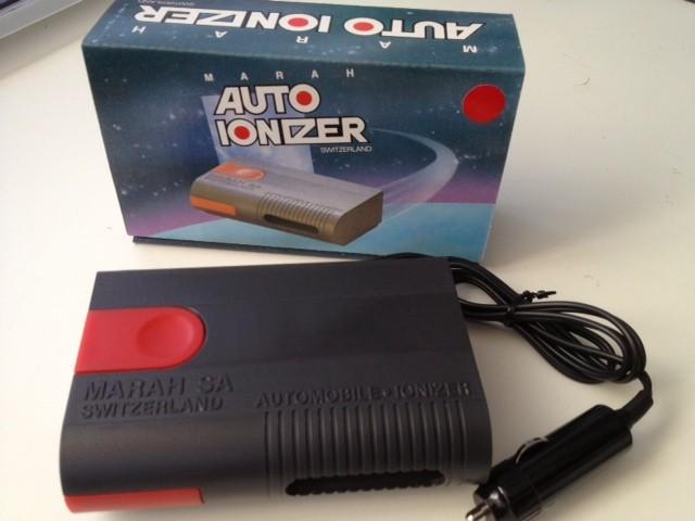 Ionizzatore per auto